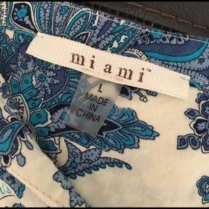 Francesca's Collections Tops - Miami Floral Top